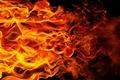 Картинка пламя, фон, огонь