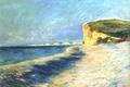 Картинка Клод Моне, картина, Пурвиль. Близ Дьеппа, морской пейзаж