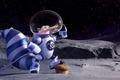 Картинка sugoi, Scrat, constellations, cartoon, cosmonaut, Ice Age: Collision Course, pose, 20th Century Fox, subarashii, nuts, ...