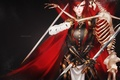 Картинка взгляд, девушка, оружие, доспехи, скелет, art, fairy tail, erza scarlet, Kristallin-F
