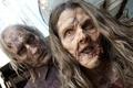 Картинка woman, man, the walking dead, zombies