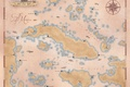 Картинка Assassin's creed 4, map, Black Flag, карта