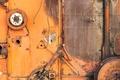Картинка rust, machinery, metal, orange