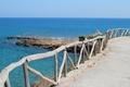 Картинка море, дорога, мост, мостик, природа