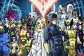 Картинка Archangel, Storm, phoenix, Professor X, Cyclops, Beast, Nightcrawler, rogue, Iceman, emma frost, Magneto, Wolverine, Kitty ...
