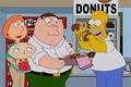 Картинка симпсоны, гриффины, пончики