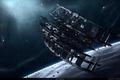 Картинка planet, spacestation, drifterium