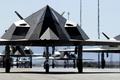 Картинка аэродром, ВВС США, Holloman Air Force Base, F-117 Nighthawks, истребитель-невидимка