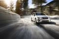 Картинка Subaru, impreza, зима, скорость, солнце