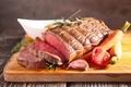 Картинка vegetables, meat, помидоры, буженина, овощи, carrots, tomatoes, мясо, морковь