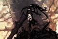 Картинка Black rock shooter, blask as death, меч