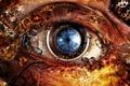 Картинка взгляд, арт, Olho, Papel de Parede, биомеханика, спектр, обьектив, творение, зрение, робот, картина, мир, глаз, ...