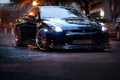 Картинка GTR, Nissan, Машины, Диски, Улица, Авто, Тюнинг