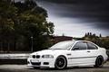 Картинка white, BMW, E46