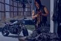 Картинка The Walking Dead, Дэрил, байк, Норман Ридус, Ходячие мертвецы