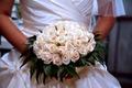 Картинка платье, белое, розы, bride, Roses, Wedding, букет, Bouquets, свадьба, невеста