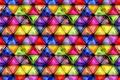 Картинка стекло, текстура, разноцветное