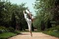 Картинка балерина, танец, девушка