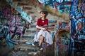 Картинка красавица, Линдси Стирлинг, violin, Lindsey Stirling, скрипачка