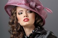 Картинка makeup, hairstyle, Hat