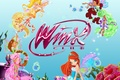 Картинка stella, winx club, винкс клуб, aisha, flora, bloom