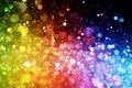 Картинка abstract, фон, lights, цвет, огни, colorful, rainbow, bokeh