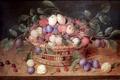 Картинка Antwerp, Basket of plums and cherries, Jacques van Hulsdonck