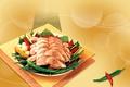 Картинка мясо, зелень, Перец, картофель