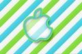 Картинка Полосы, Минимализм, Apple