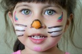 Картинка Girl, style, eyes, face, sweet, mask, kid, portrait