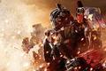Картинка Трансформеры, робот, взрыв