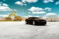 Картинка Chevrolet, Camaro, Front, Black, Wheels, VMB8, Velgen