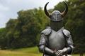 Картинка доспехи, рога, шлем, рыцарь, hollow crown