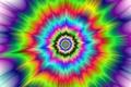 Картинка bright colors, hypnotic, circular, visual effect