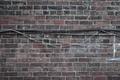 Картинка Стена, текстура, кирпич, кабель
