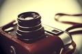 Картинка фотоаппарат, чехол, фон, однообъективный, советский, размытость, ФЭД-5, объектив