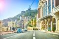 Картинка Monaco, Монако, Cars, кран, People, люди, Building, машины, улица, European, Street, здания