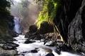 Картинка Камни, река, водопад