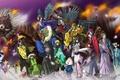 Картинка spark, oriental, ken, asiatic, weapon, Night Rikuo, asian, youkai, demon, katana, by ryuuka nagare, march ...