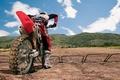 Картинка Мотокросс, moto cross, мотоцикл, гонки, заезд, трасса